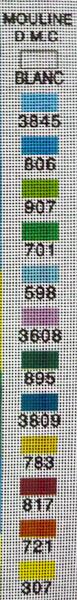 Χρώματα Κέντημα Καδράκι 1103