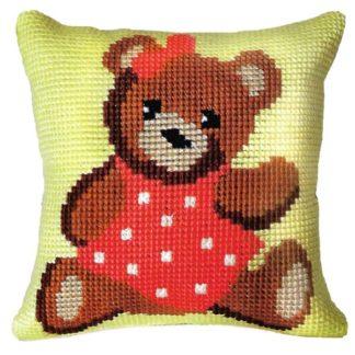 Παιδικό μαξιλάρι κιτ Αρκουδίτσα