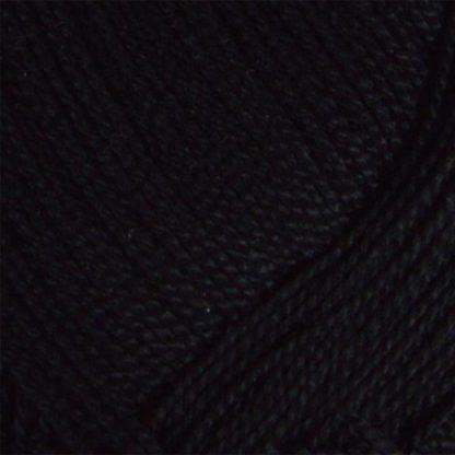 Νήμα για πλέξιμο Coton Perle Χρώμα Μαύρο