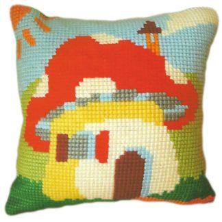 Παιδικό μαξιλάρι κιτ Μανιταρόσπιτο