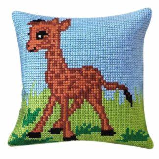 Παιδικό μαξιλάρι κιτ Μικρή Καμηλοπάρδαλη