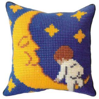 Παιδικό μαξιλάρι κιτ Μωράκι Με Φεγγάρι