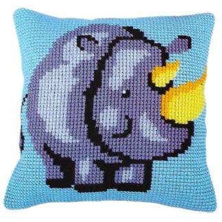 Παιδικό μαξιλάρι κιτ Ρινόκερος