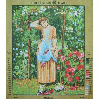 Κέντημα Μαζεύοντας Λουλούδια 11426