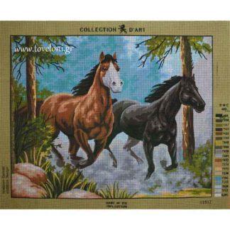 Κέντημα Άλογα 11517