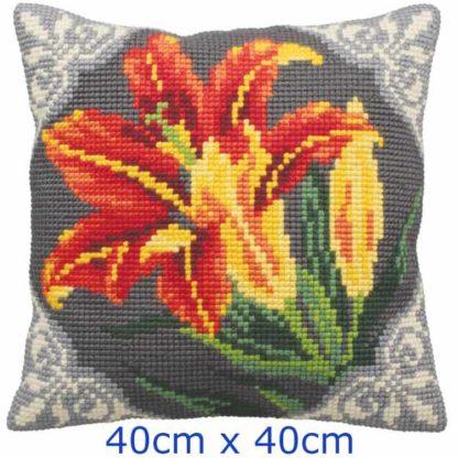 Μαξιλάρι Κιτ Λουλούδι 5123