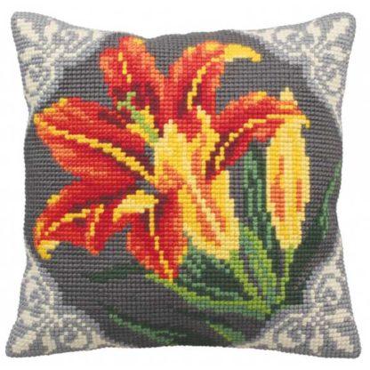 Μαξιλάρι Κιτ Λουλούδι 5123 Φώτο 2