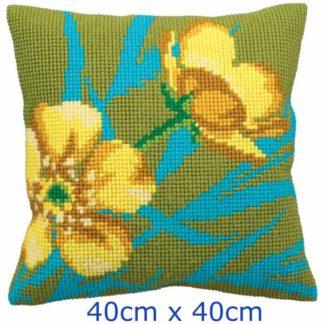 Μαξιλάρι Κιτ Λουλούδια 5138