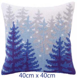 Μαξιλάρι κιτ Χιονισμένο Δάσος 5304