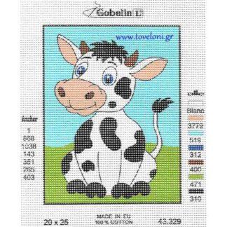 Κέντημα Αγελαδίτσα 43329