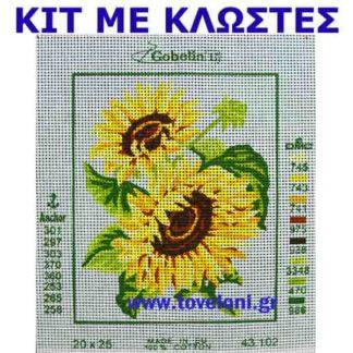 Κέντημα Κιτ Λουλούδια 43102