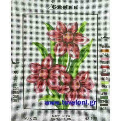 Κέντημα Κιτ Λουλούδια 43108 Φώτο 2