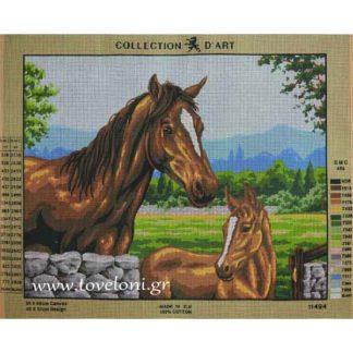 Κέντημα Άλογα 11494